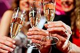 Das neue Jahr feiert man am besten mit guten Freunden