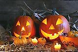 Gruselige Kürbisdeko zu Halloween