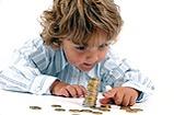 Taschengeld ist wichtig für die Selbstständigkeit Ihres Kindes